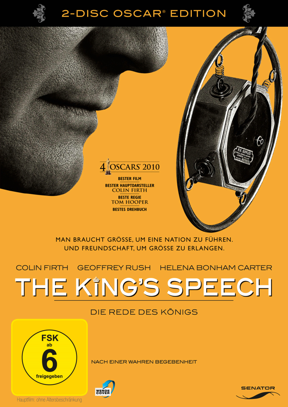 Image of The King's Speech: Die Rede des Königs - Special Edition