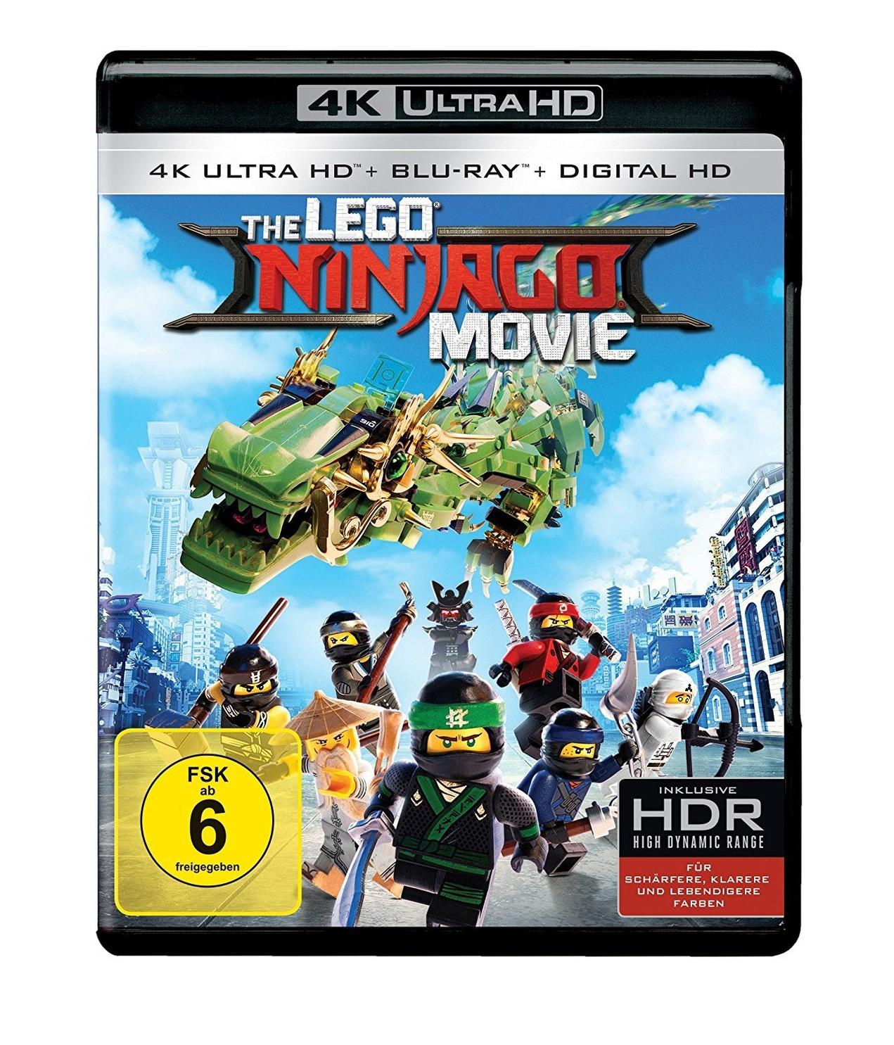 The LEGO Ninjago Movie 4K Ultra HD Blu-ray bei Weltbild.de kaufen