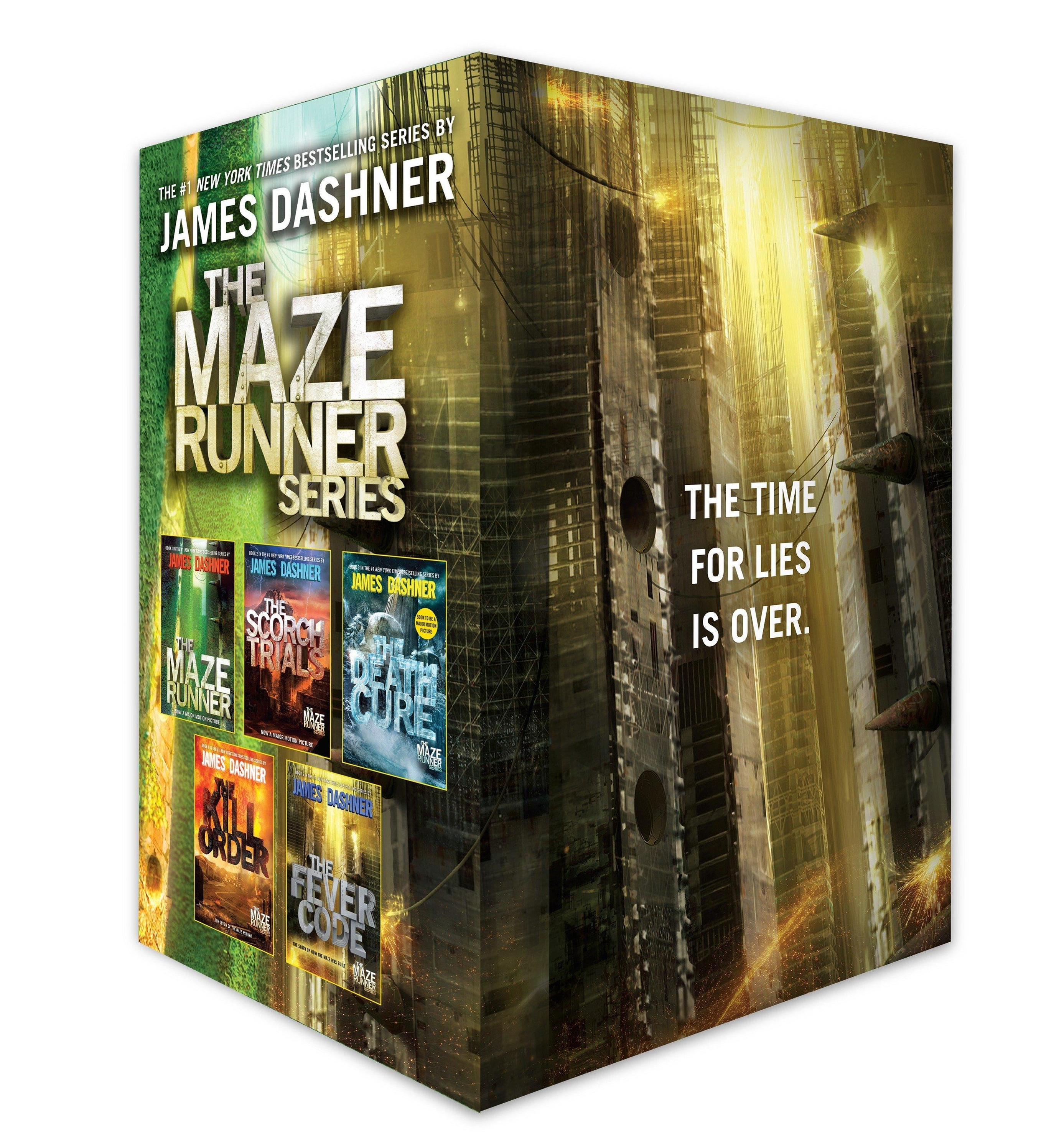 The Maze Runner Series Complete Collection Boxed Set 20 Book