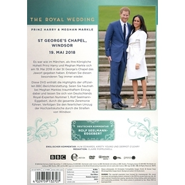 The Royal Wedding: Harry & Meghan DVD bei Weltbild.de bestellen