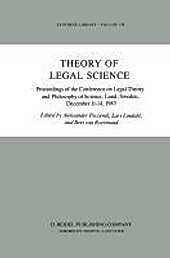 Theory of Legal Science.  - Buch