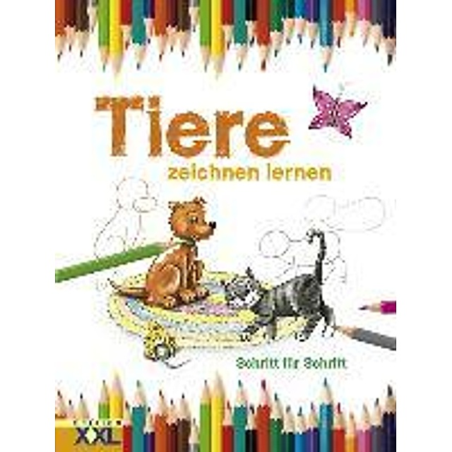 Tiere Zeichnen Lernen Buch Versandkostenfrei Bei Weltbild De Bestellen