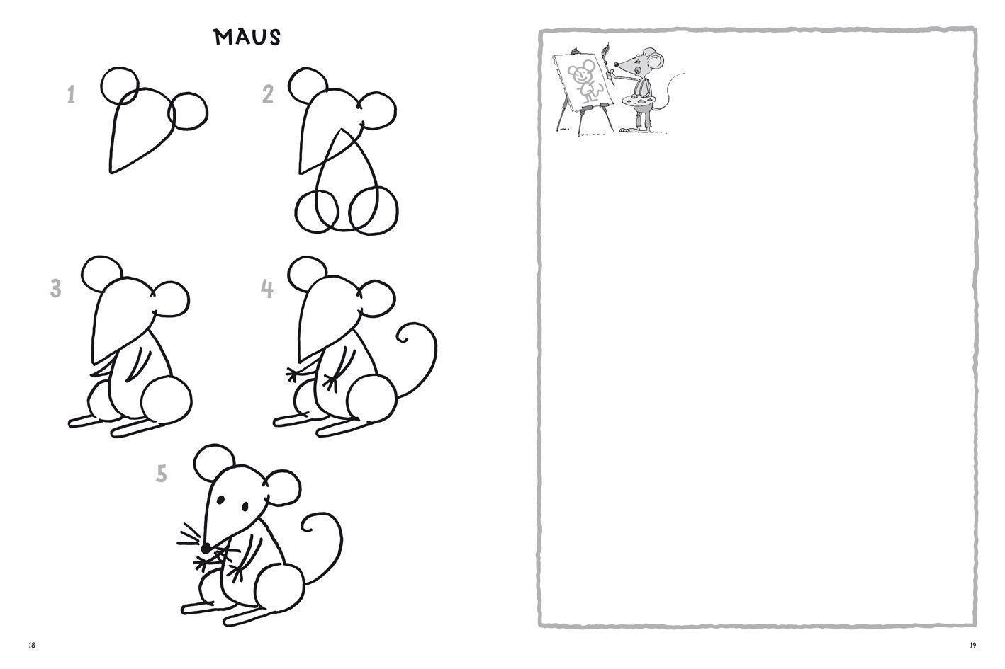 Tiere Zeichnen Schritt Fur Schritt Buch Bei Weltbild De Bestellen