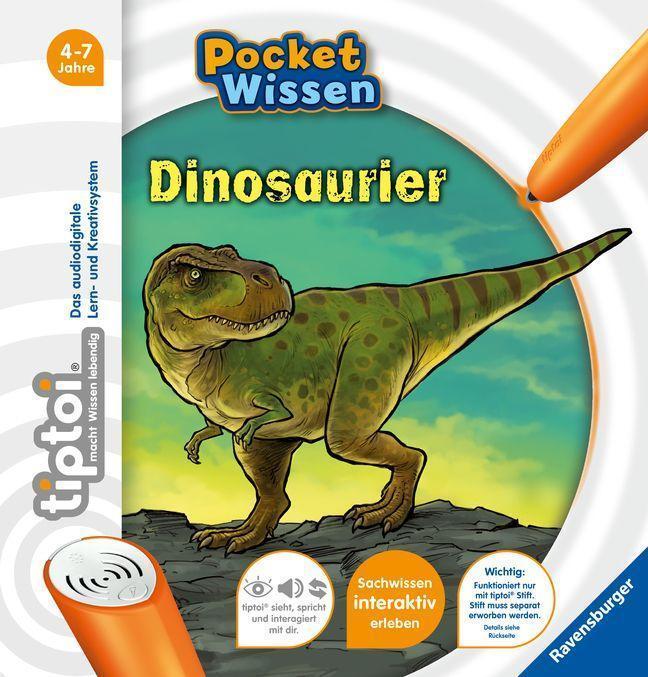 Tasche für Tiptoi Bücher** Handarbeit **für 5 Bücher*** Dinos