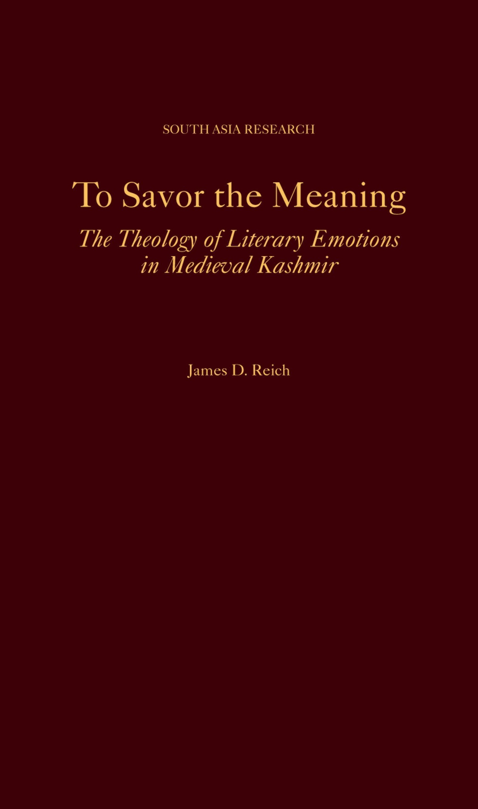 To Savor the Meaning ebook jetzt bei Weltbild.de als Download