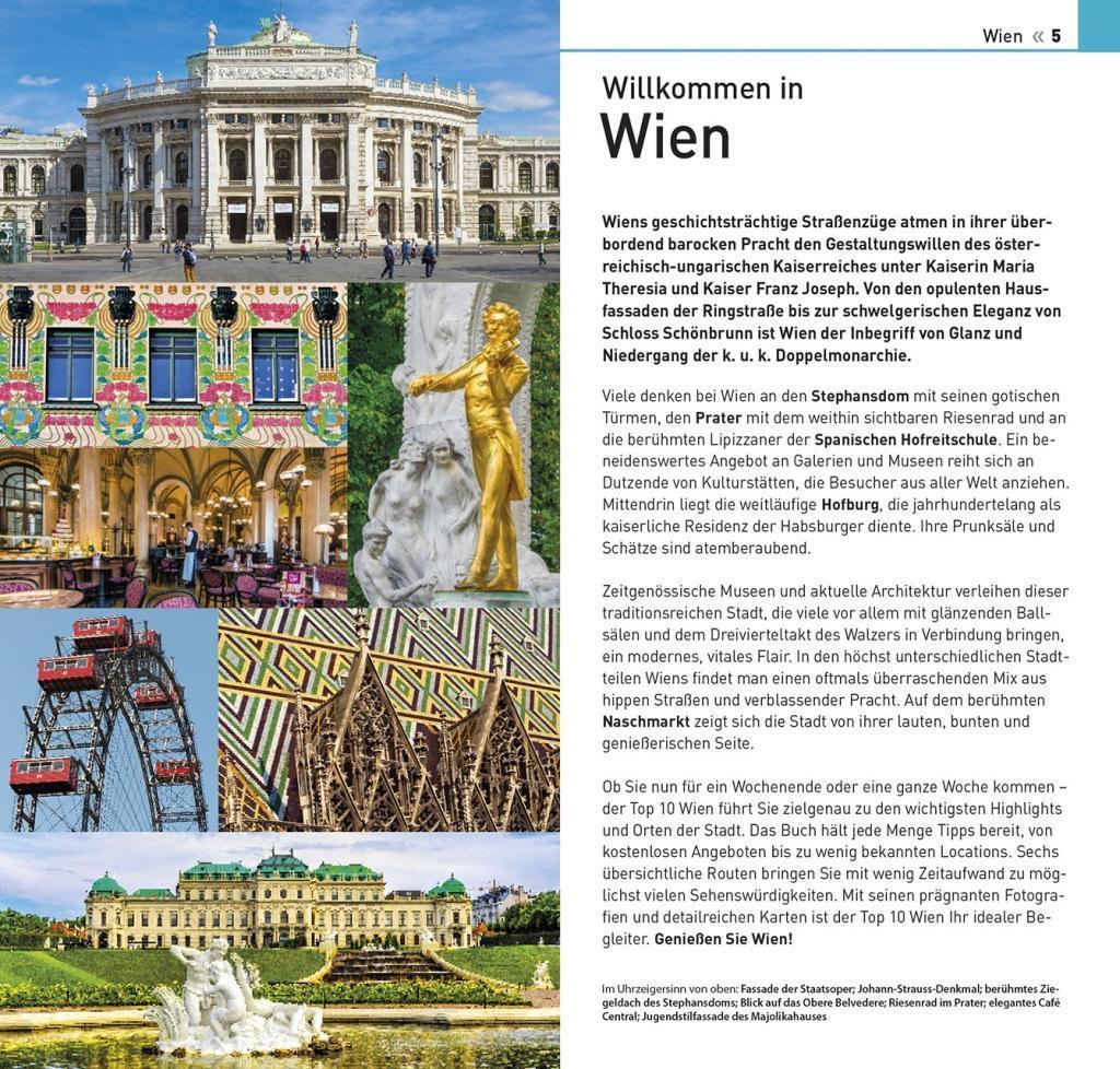 Bunt Ohrringe mit Ausblick auf Wien f/ür Sie in Geschenk