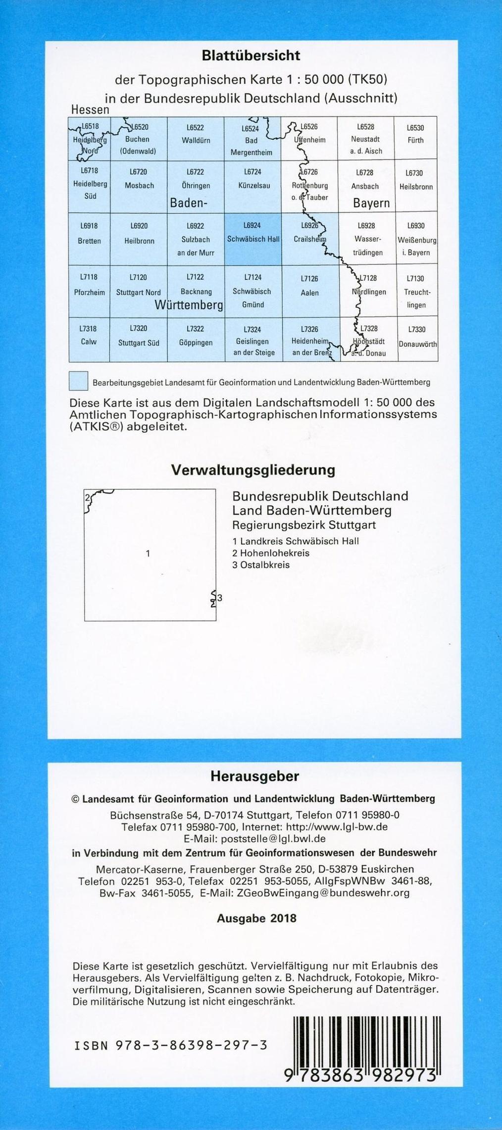 Topographische Karten Baden Wurttemberg Zivilmilitarische Ausgabe