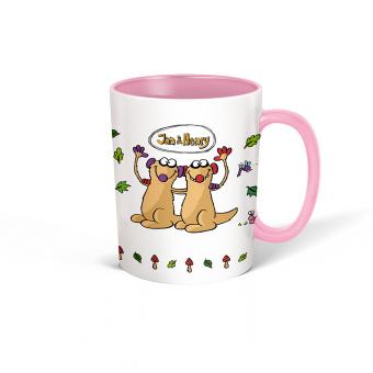 Kaffe Tasse Küche Känguru Keramik bedruckt