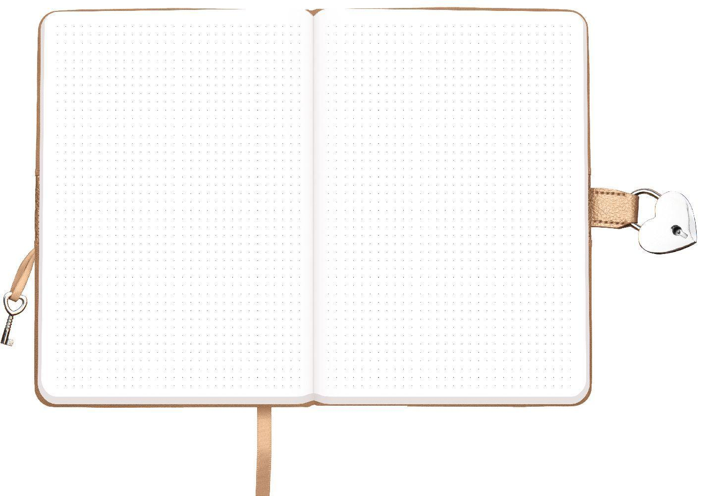Trötsch Tagebuch mit Zahlenschloss Feather