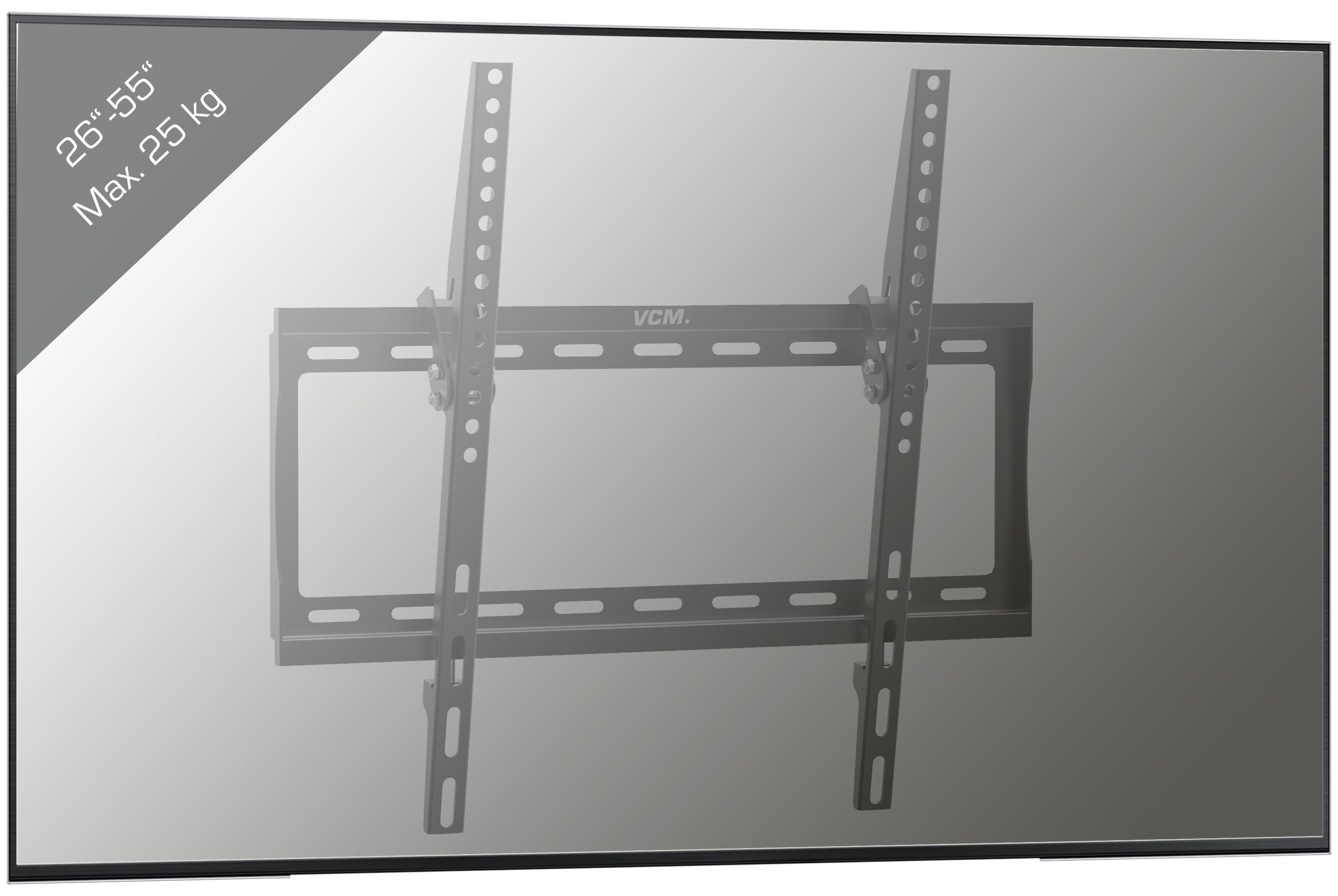 Vcm Lcd Led Fernseher Wandhalter Tv Wandhalterung 26 55 Zoll
