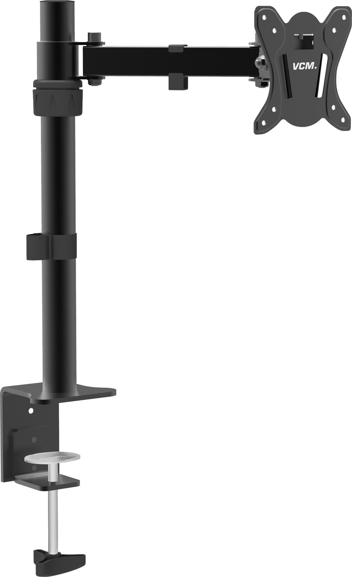 """VCM Monitor TFT Schwenkarm Tisch Schreibtisch Halterung Halter Bildschirm  Halterung """"B-T8"""" VCM Tischhalterung """"B-T8"""" (Farbe: Schwarz)"""