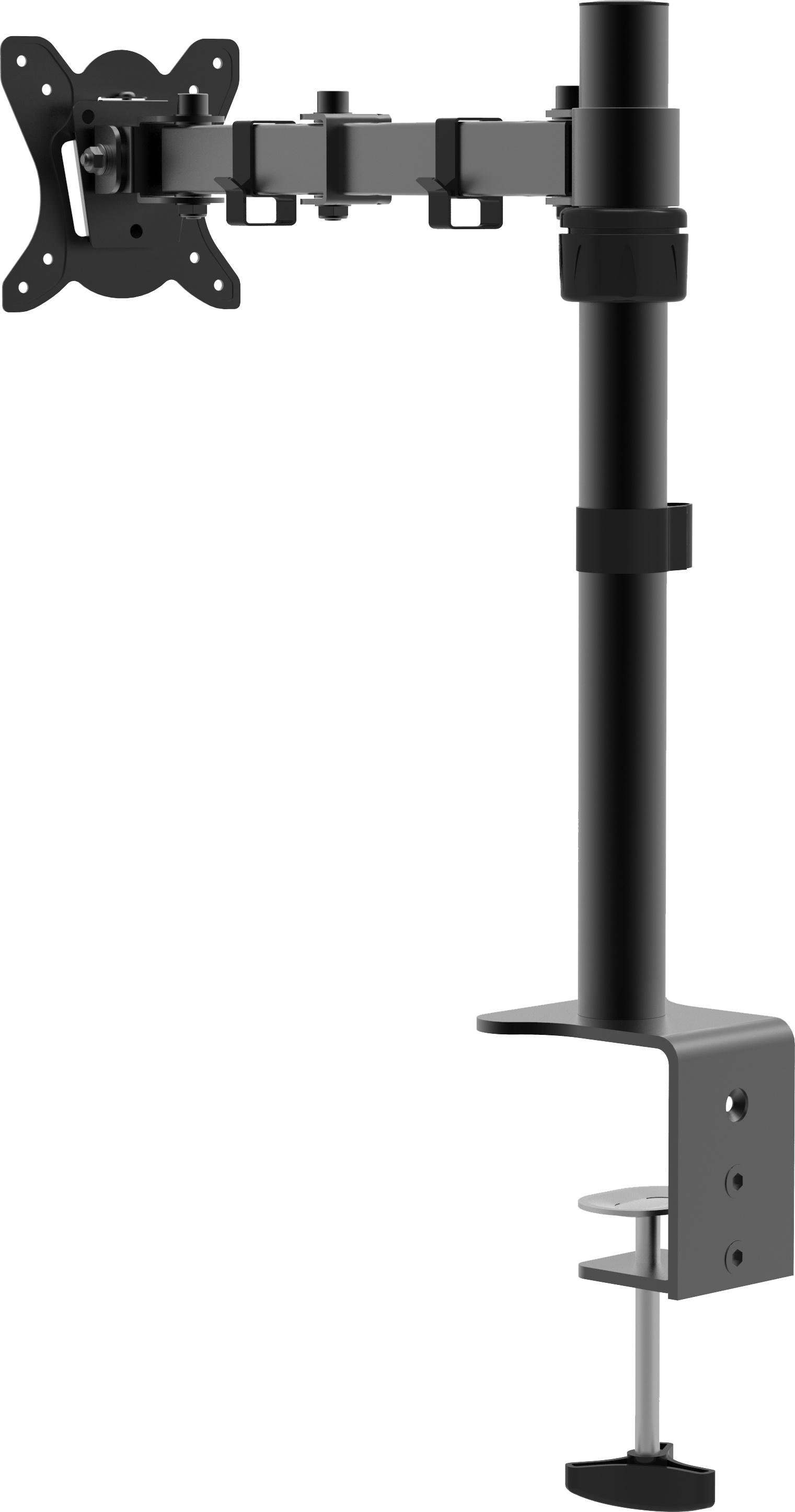 VCM Monitor TFT Schwenkarm Tisch Schreibtisch Halterung Halter Bildschirm Halterung