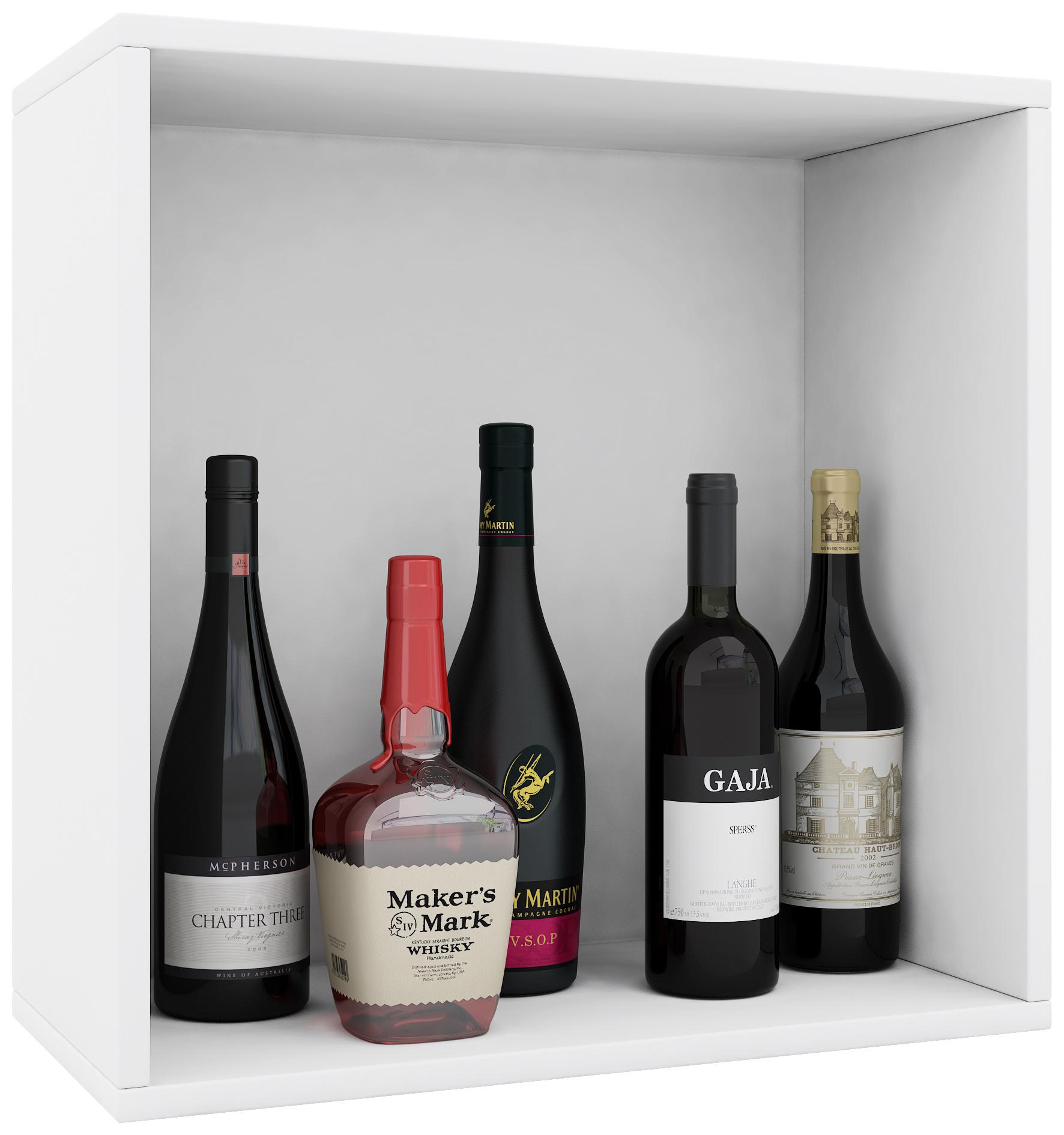 Vcm Wein Regalserie Regal Weinregal Weinschrank Weinflaschen Schrank Holz Wurfel Flaschen Aufbewahrung Weino Vcm Weinregal Serie Weino Farbe Weino L Weiss Weltbild De