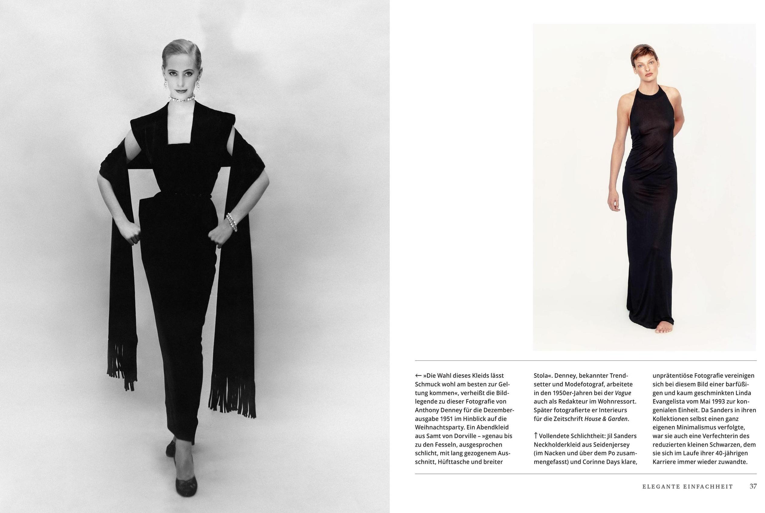 vogue: little black dress