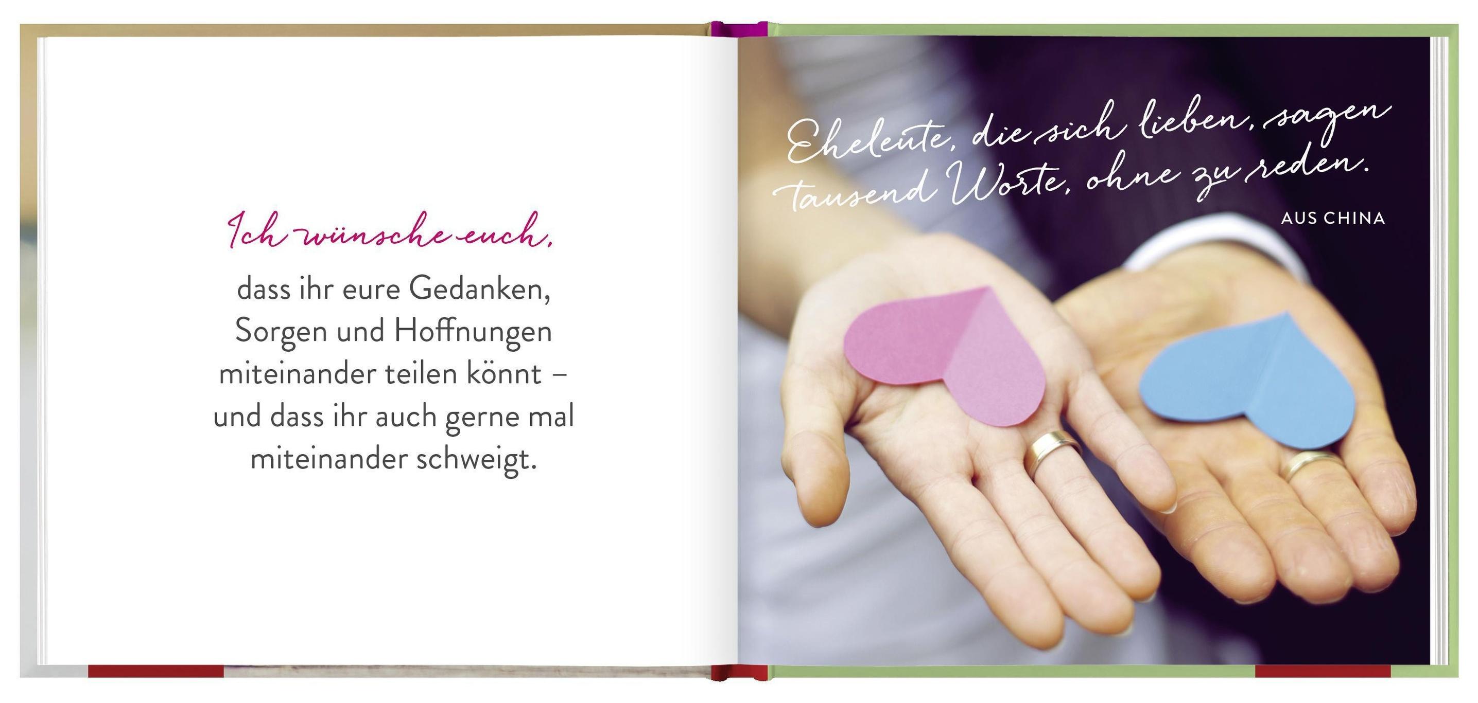 Was ich euch wünsche zur Hochzeit Buch bei Weltbild.ch