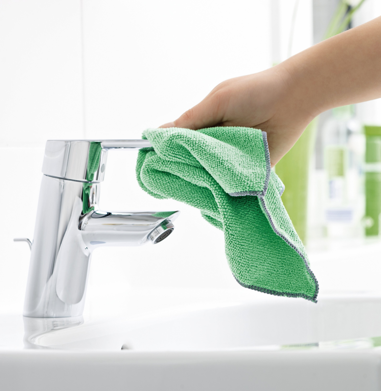 4 x Haushaltstuch Antibakteriell Grün 2er Packung Bad /& WC Spüle,Geschirr