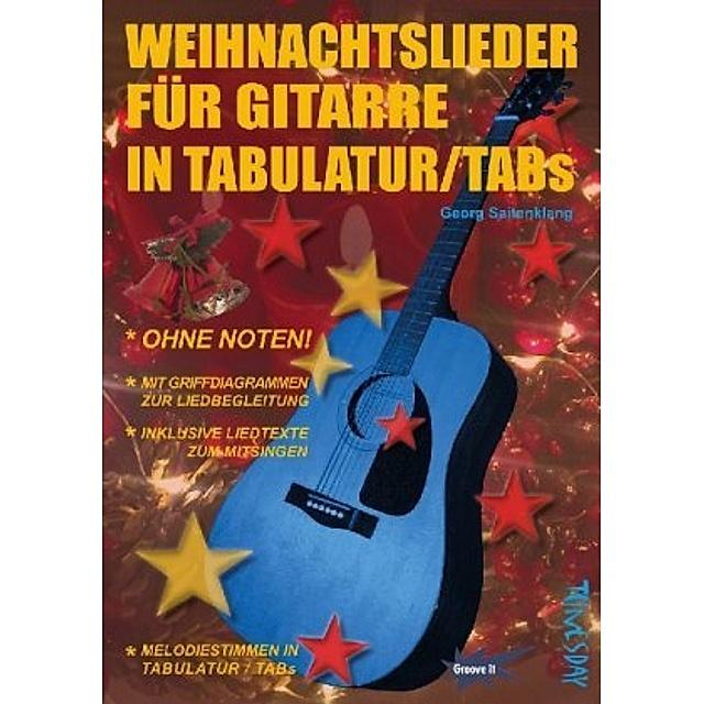 Frohes neues Jahr Gitarre klassische Tabs