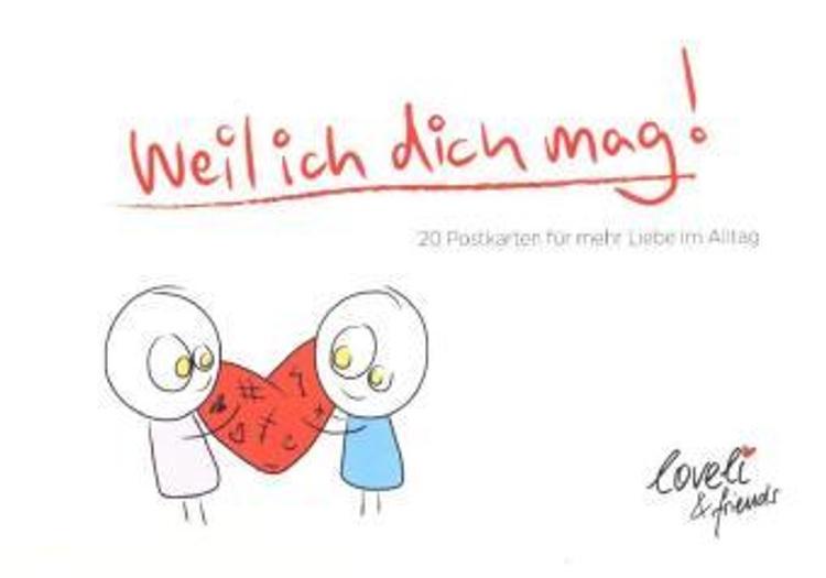 Weil ich dich mag - Postkartenbuch bestellen | Weltbild.ch