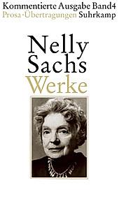 Werke: Bd.4 Prosa, Übertragungen. Nelly Sachs, - Buch - Nelly Sachs,