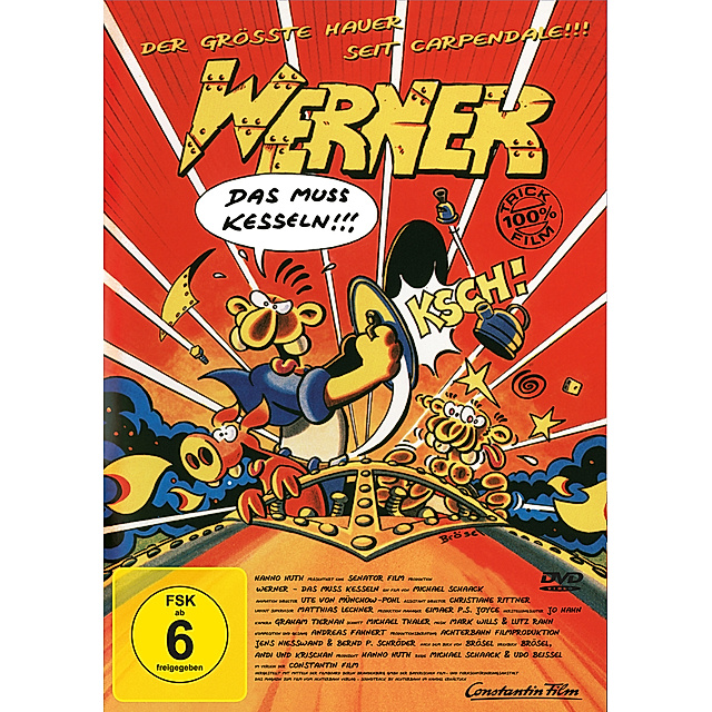 Werner Das Muss Kesseln Dvd Bei Weltbild At Bestellen