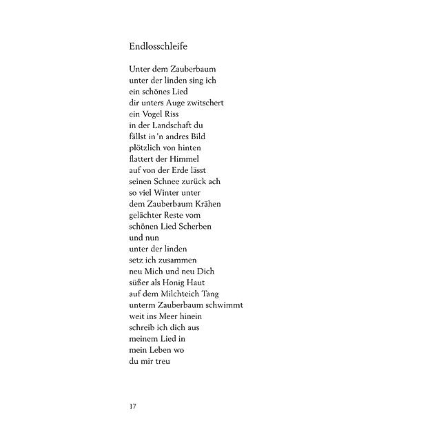 gedicht bekanntschaft