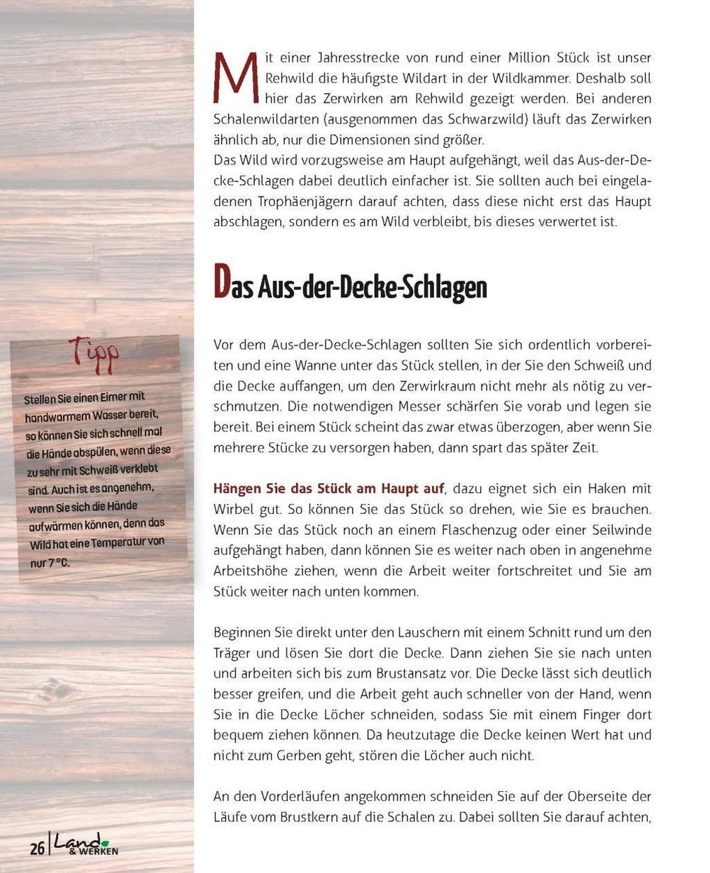 Wildverwertung praktisch Buch versandkostenfrei bei Weltbild.de ...