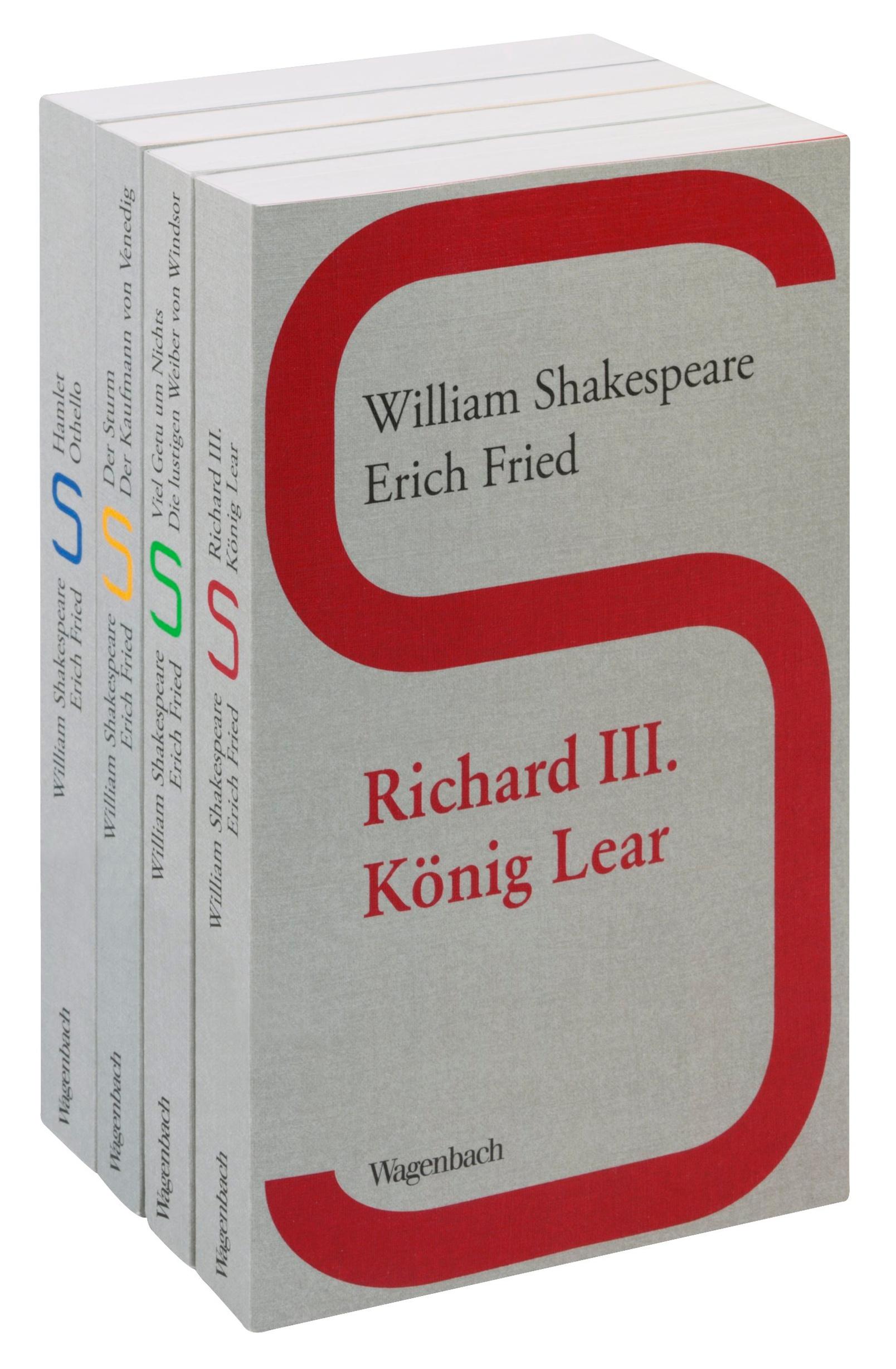 William Shakespeare Erich Fried 4 Bände Buch Kaufen Jokersat
