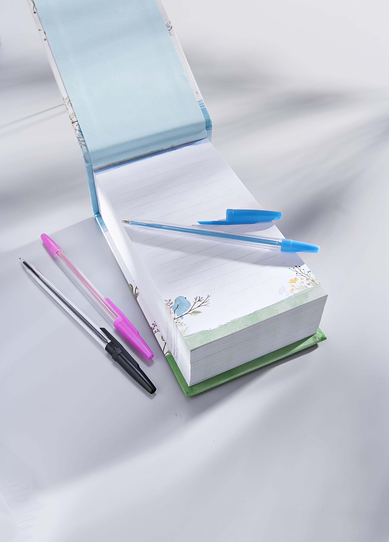 NEU Notizbuch Notizblock Ringbuch Tagebuch DIN A5 Liniert schwarz 100 Seiten