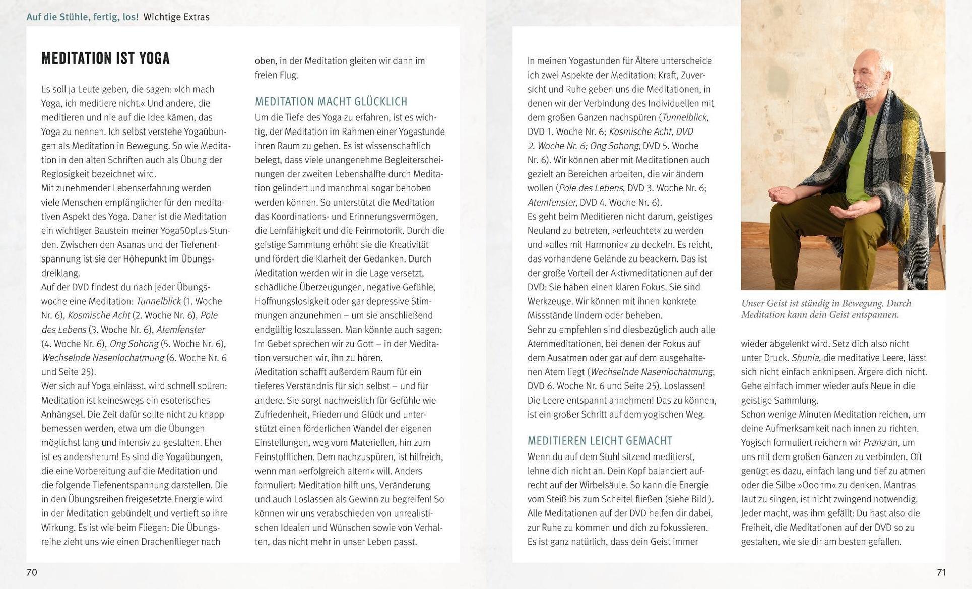 Yoga Fur Spateinsteiger M Dvd Rom Buch Versandkostenfrei Bei Weltbild De