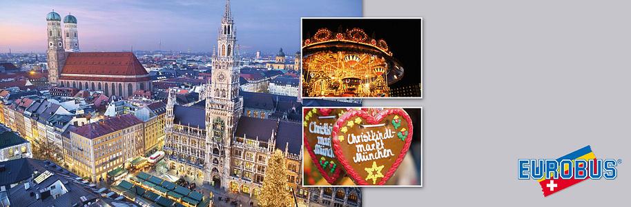 ###Jetzt mitmachen und eine Reise nach München an den Weihnachtsmarkt gewinnen!  EUROBUS präsentiert Ihnen auch dieses Jahr wieder die grösste und vielfältigste Auswahl an Weihnachtsmärkten.  **[Überzeugen Sie sich selbst!](http://www.eurobus.ch/weltbild?utm_source=Weltbild&utm_medium=Web&utm_campaign=Banner)**
