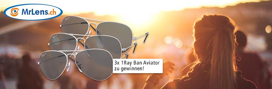 Ray Ban Aviator - Jetzt mitmachen & gewinnen - MrLens
