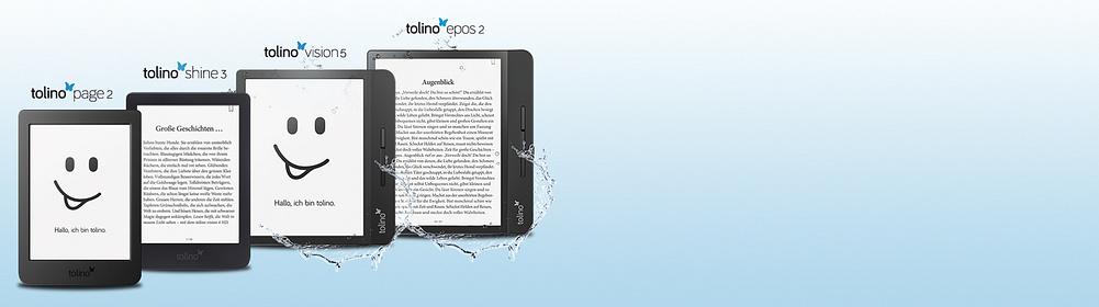 """Welcher tolino eReader passt zu meinen individuellen Lesebedürfnissen? Ob vom attraktiven, preisgünstigen Einstiegsgerät bis hin zum Premiumgerät für anspruchsvolle eBook Reading-Liebhaber. Hier findet jeder seinen optimalen eReader für maximale Lesefreude! {{ button href=""""/tolino/tolino-vergleich"""" text=""""Zum tolino eReader Vergleich"""" }}"""