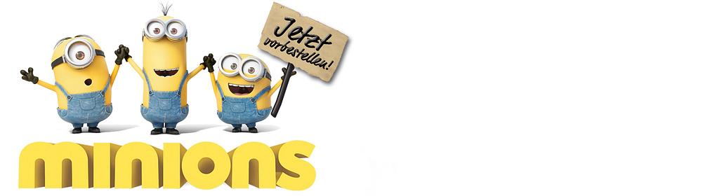 """###BAAANANA!!! Kevin, Bob und Stuart sind da!  Minions-Alarm bei Weltbild: Sie sind unglaublich albern und chaotisch, frech, knuffig … einfach liebenswert. Die Universal Pictures Studios haben mit ihnen den Kinohit 2015 gelandet. Die kleinen Spaß-Anarchisten erobern die Welt – und jetzt auch unseren Shop! BOO YA!!!  Alles, was Fans der kleinen gelben Latzhosen-Träger lieben, finden Sie in unserer Themenwelt.  {{ button href=""""/themenwelten/minions"""" text=""""Zur Themenwelt""""}}"""