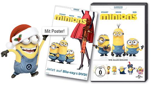 Minions DVD + Poster