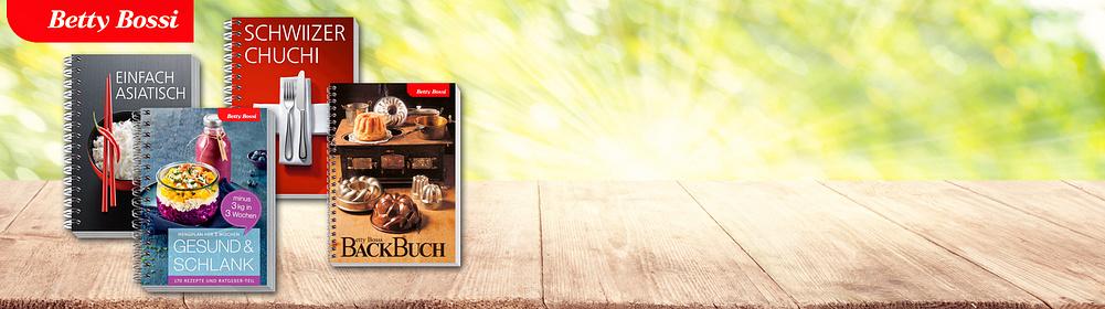 #Betty Bossi bei Weltbild   **Jetzt neu bei Weltbild: Alle Betty Bossi-Kochbücher.**    Entdecken Sie jetzt unsere neuen Betty-Bossi Kochbücher. Verwöhnen Sie Ihre Famile, Freunde und sich mit leckeren und einfachen Rezepten. Über einheimische bis asiatische Gerichte, Tipps für Ihr Festmahl, spannende Rezepte für Fleischliebhaber oder leckere vegetarische Gerichte. Gleich stöbern und loskochen.