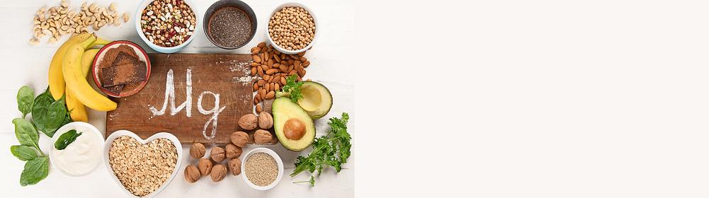 ### Welche Funktionen haben Magnesium, Calcium & Kalium im Körper ### Welche Lebensmittel enthalten Magnesium, Calcium & Kalium ### Wie äußert sich ein Mangel im Körper?