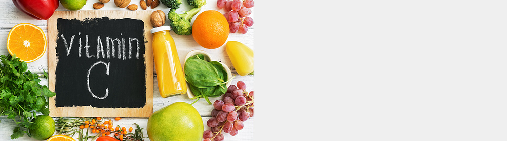 ### Welche Aufgaben haben Vitamin C & Zink im Körper? ### Was sind die Symptome eines Mangels an Vitamin C & Zink? ### Wie hoch ist der Bedarf an Vitamin C & Zink?