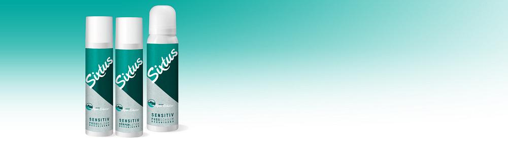 Sixtus Sensitiv -  Sanfte Pflege für empfindliche & trockene Haut  Auch für Diabetiker geeignet