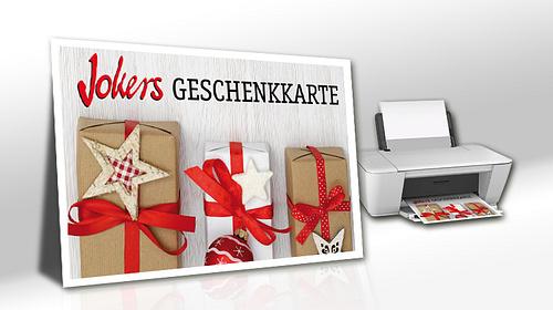 Bild Digitale Geschenkkarte