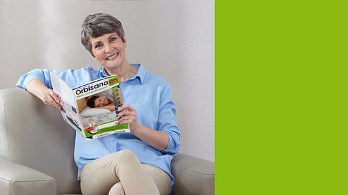 """ORBISANA Katalog online blättern und inspirieren lassen  {{ button href=""""https://www.orbisana.de/orbisana-katalog"""" text=""""jetzt ansehen""""}}"""
