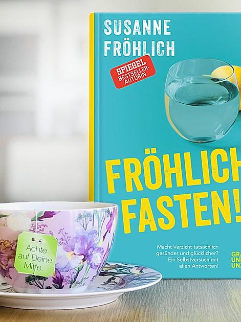 """""""Fröhlich fasten"""", der neue Ratgeber-Bestseller von Susanne Fröhlich KP-11323_B_Omag_Froehlich1_standard_de Foto © Gräfe und Unzer, Gaby Gerster"""