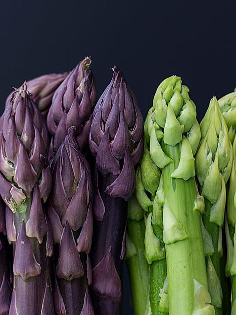 Edel und köstlich: Spargel in allen Farben