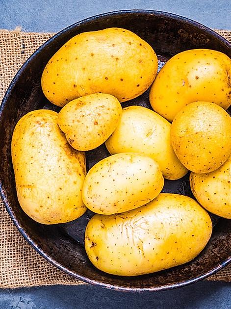 Frische Kartoffeln sind pralle Nährstoffpakete
