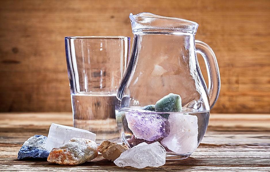 Für trinkwasser heilsteine Welche Bedeutung