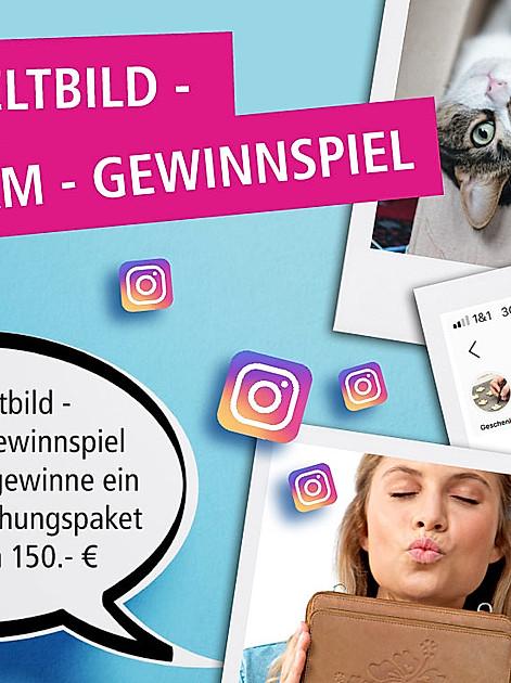 Gewinnchance auf Instagram - Jetzt mitmachen