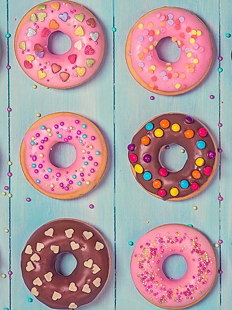 Ein rundes Vergnügen: Donuts