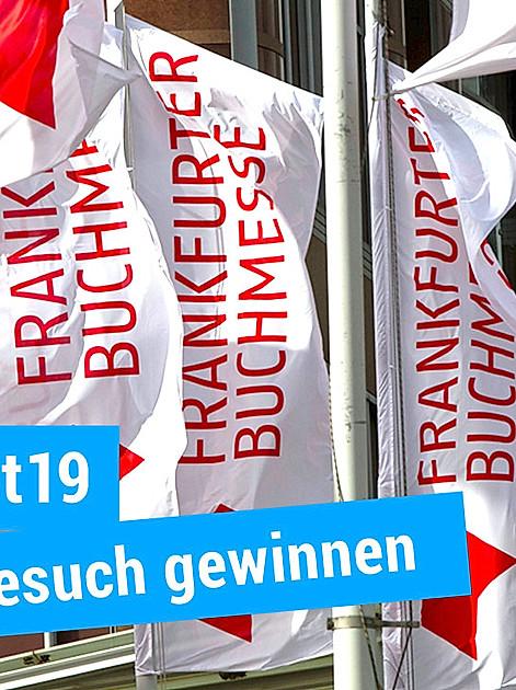 Tickets gewinnen für die Frankfurter Buchmesse 2019