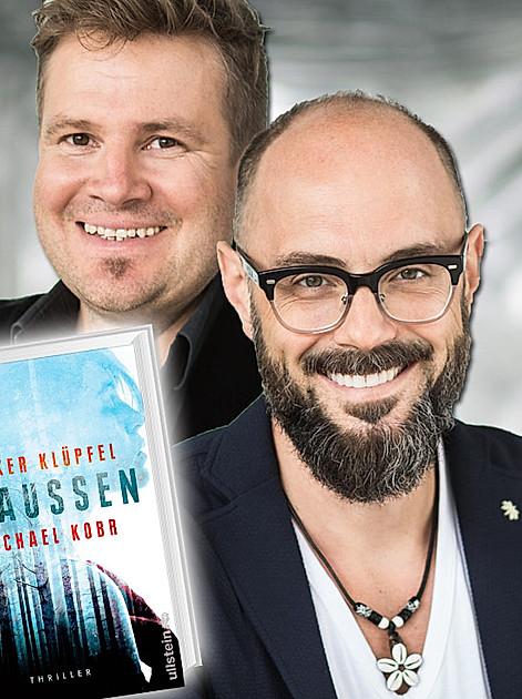 Bestseller-Duo und Survival-Team: Michael Kobr (l.) und Volker Klüpfel (r.)