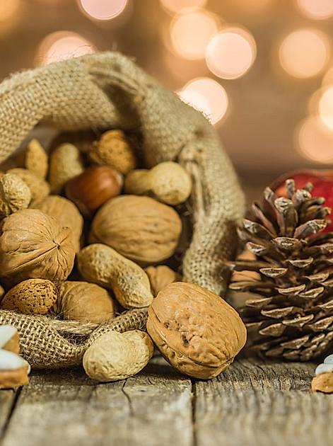Leckerer und gesunder Snack - Nüsse