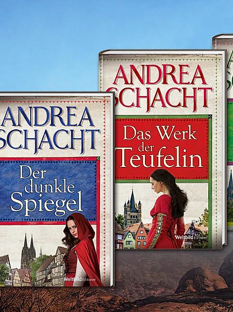 exklusive Edition aller historischen Romane von Andrea Schacht